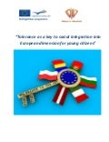 Tolerance as a key to social integration into European dimension for young citizens