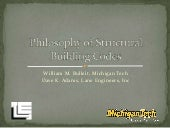 Philosophy of Structural Building C...