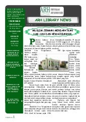 Bulletin arh library news edisi 17 ...