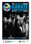 Bulletin no 1  european senior karate championships tampere 1 4 may 2014