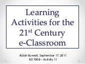 Collaborative Activites for ELT 7008