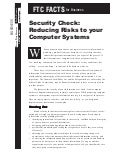 Business Security Check Reducing Risks Your Computer Systems