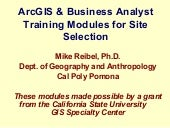 Business Analyst Modules