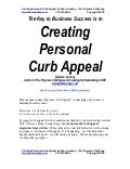Business Keynote Speaker On Creating Personal Curb Appeal