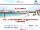 "Business Plan ""Piano di marketing p..."