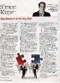 Business a la francaise by Simon Kuper