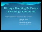 Hitting the Licensing Bullseye:  Th...