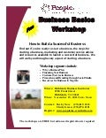 Business Basics Workshop - Richlands Businesss Incubator