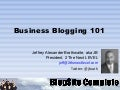 Business Blogging 101 Power Networking
