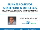 Business Case for SharePoint and Office 365