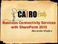 Business Connectivity Services With Share Point 2010