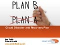Cloud Disaster and Recovery Plan