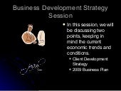 Building a Business Development Strategy