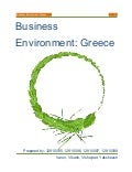 Business environment -  Greece