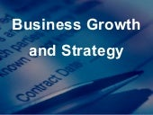 Business Growth & Strategy