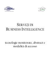 Business Intelligence Area Science ...