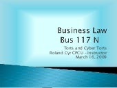 Business Law Chapter 4