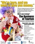 Bristol Business of Tourism Workshop, May 10 Flyer