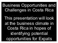 Business opportunities in costa rica