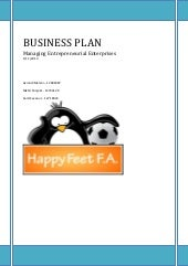 Business plan   soccer school