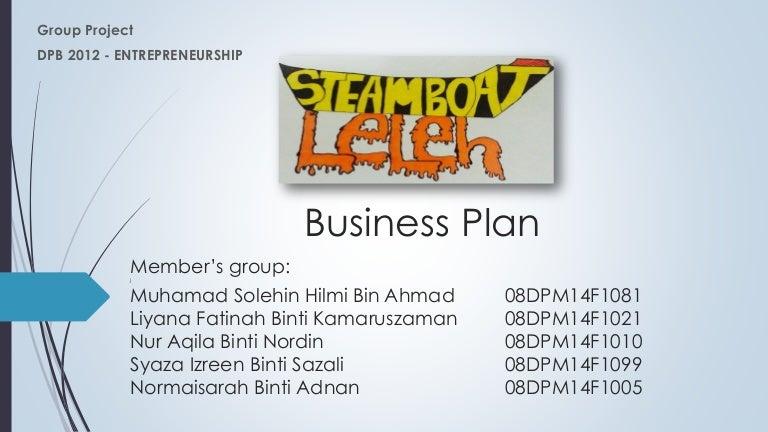 Buffet business plan
