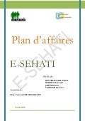 Plan d'affaires E-SEHATI