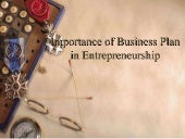 importance of Business plan in ent...