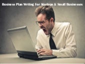 Business Plan Writing For Startups ...
