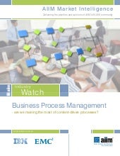 Business process management   are w...