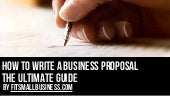 How To Write A Business Proposal - ...
