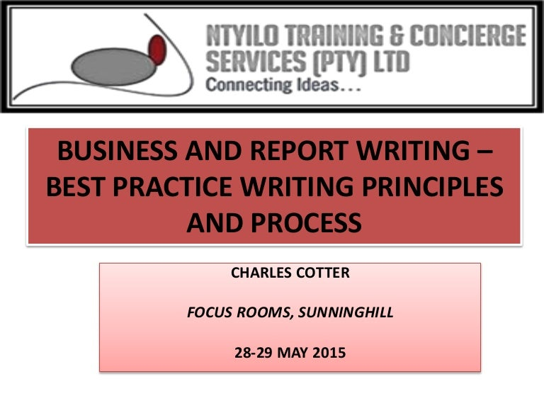 Types of business reports writing Types of business reports – Type of Business Report