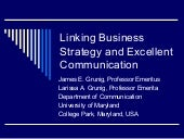 Business Strategy And Excellent Com...