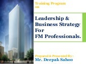 Business strategy for fm profection...