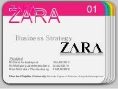 Business strategy zara