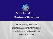 Business structure 1