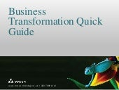 Business Transformation Quick Guide