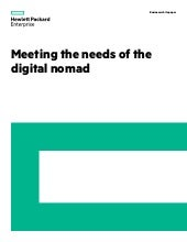 Meeting the Needs of the Digital Nomad