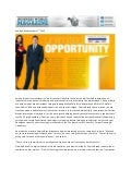 Business World Magazine Publication Service Brands International with Craig Donaldson & Nicole Hudson