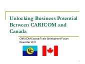 CARICOM-Canada Trade Development Fo...