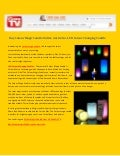 Buy Colour Magic Candle Online Australia - LED Colour Changing Candle