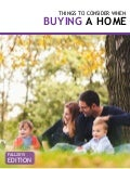 Things to Consider When Buying a Home - Fall 2015