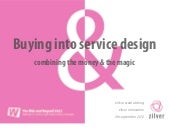 Buying into service design