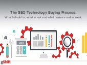 The SEO Technology Buying Process