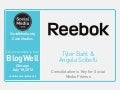 BlogWell Chicago Social Media Case Study: Reebok, presented by Tyler Bahl and Angela Scibelli