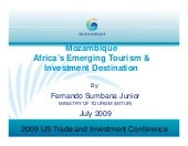 Mozambique Ministry of Tourism