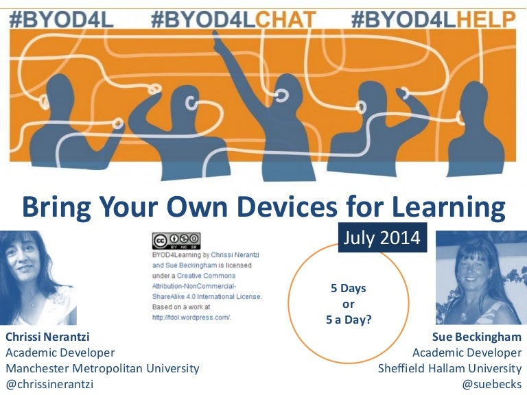 BYOD4L July 2014 review of the week with Sue Beckingham