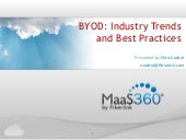 BYOD Industry Trends and Best Pract...