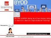 Byod policy   a boon or a bane to o...