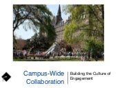 2015 New Director Orientation - Building a Campus-wide Culture of Engagement