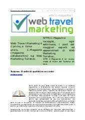 Web Travel Marketing Magazine N° 10